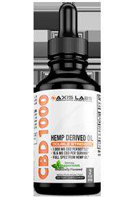 Axis Labs CBD Oil 1000mg