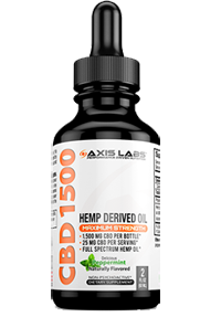 Axis Labs CBD Oil 1500mg