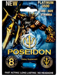 Poseidon Platinum 3500 Male Enhancement