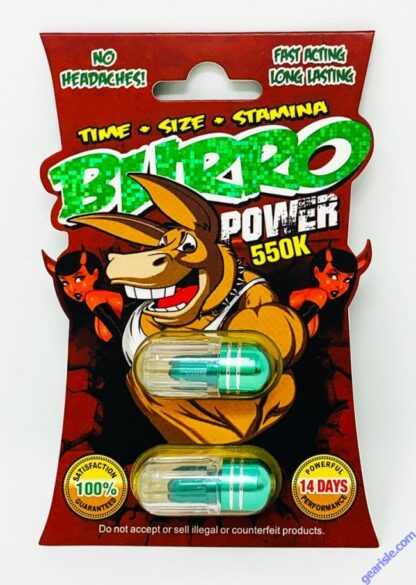 Burro 2 Power 550K