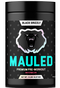 Black Grizzly Mauled