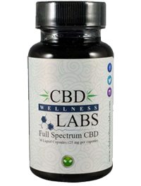 CBD Wellness Labs CBD Liquid Gel Caps 25mg